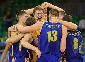 Украина впервые завоевала путевку на чемпионат мира по баскетболу
