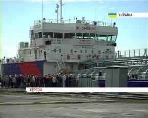 В Украине построен огромный танкер, самый большой корабль за время независимости Украины