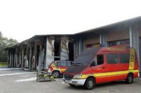 70 німецьких пожежників не змогли згасити власне пожежне депо
