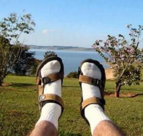 В Японии изобрели носки от спотыкания