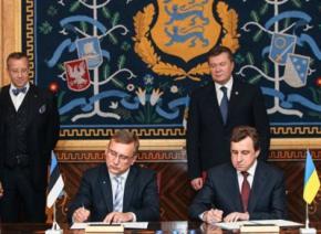 Украина и Эстония будут развивать коридор между Черным и Балтийским морями