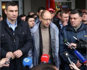 Яценюк, Кличко і Тягнибок закликають до відставки уряду Азарова