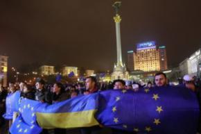 Тимошенко призывает к мощному Евромайдану