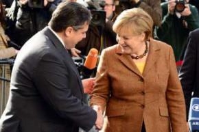Німецькі соціал-демократи і блок Меркель сформували коаліцію