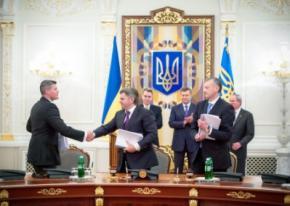 Украина и Chevron подписали газовое соглашение