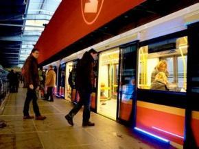 В варшавском метро загорелся новый поезд типа Inspiro