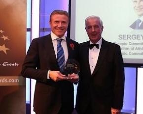 Сергея Бубку наградили в Лондоне за выдающийся вклад в развитие спорта