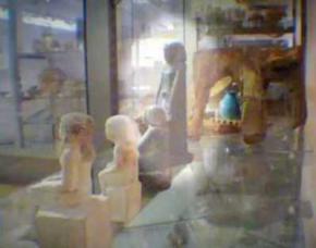 Раскрыт секрет передвижения египетской статуэтки