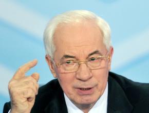 Украина не идет в Таможенный союз, - Азаров