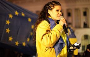 Руслана: Я себя сожгу на этом Майдане, если не произойдут изменения
