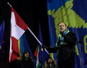 На Евроайдан приехали сотни канадских украинцев