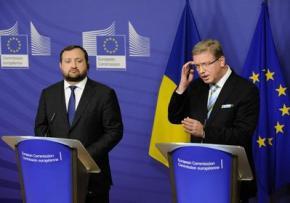 Украина вернулась к подготовке соглашения об ассоциации с ЕС