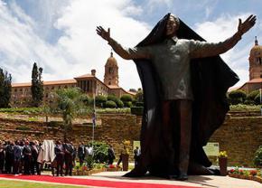В столице ЮАР открыли памятник Нельсону Манделе
