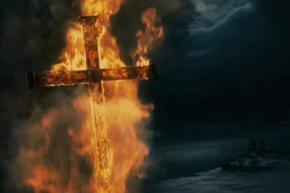 В Крыму сожгли храм Киевского патриархата, за то, что его настоятель уехал на Майдан