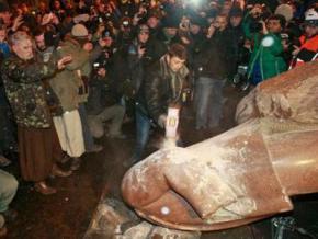 Союз писателей Украины: заявление по поводу сноса памятника Ленину