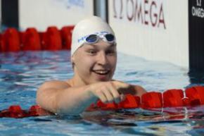 Українець Андрій Говоров завоював бронзу ЧЄ з плавання, двічі побивши національний рекорд