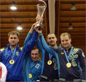 Українські шпажисти виграли командне золото на етапі Кубка світу