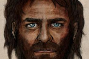 Перші європейці були смуглявими і блакитноокими