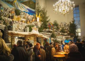 Найбільший в Україні вертеп встановили у Тернополі