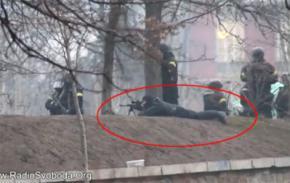 Є відеодоказ, що з боку Беркуту у протестувальників стріляли снайпери