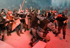 Украинские радикалы заявили о претензиях на власть