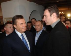 Янукович согласился на дебаты с Кличко