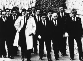 Численность японской мафии