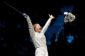 Ольга Харлан взяла золото на Кубке мира по фехтованию в Пекине