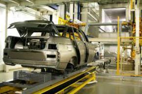 Производство легковых автомобилей в Украине выросло почти вдвое