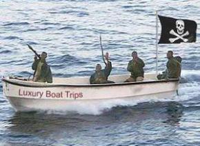 Заможним туристам пропонують полювання на сомалійських піратів