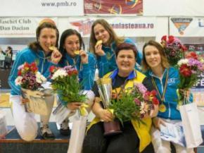 Украинские рапиристки выиграли Кубок Европы по фехтованию