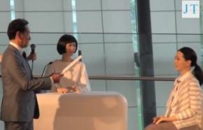 Японці створили робота, який може працювати диктором новин всіма мовами