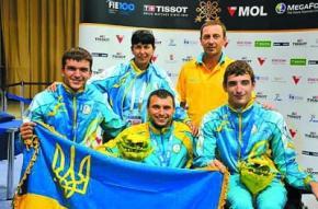 Антон Дацко здобув третє