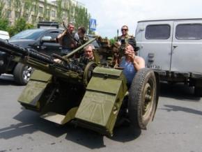 Ситуация в Славянске: банки, аптеки закрыты, АЗС не работают, город остался без воды