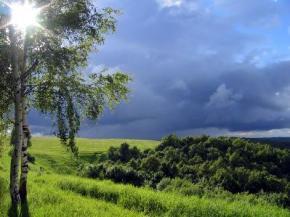 Сегодня в Украине ветрено и дождливо, кроме западной части