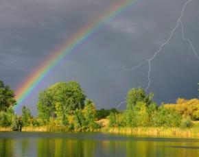 На 11 і 12 липня в Україні оголосили штормове попередження