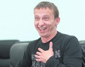 Российский актер Охлобыстин, фанат Путина и