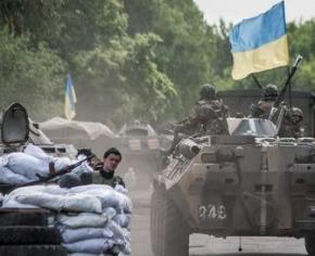 Сили АТО обстрілюють з боку Росії