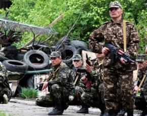 Террористы ведут наступление в Донецкой области с применением минометов, танков и ПТУР, - Нацгвардия