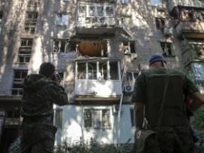 СНБО: боевики на Донбассе обстреливают жилые кварталы и грабят магазины