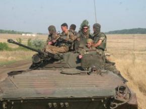 За сутки силы АТО 30 раз вступали в огневой контакт с террористами - СНБО