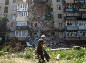 В Луганську гуманітарна катастрофа, місто на грані екологічного лиха