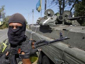 Сили АТО проводять рейди біля кордону з Росією і ізолюють кризові райони