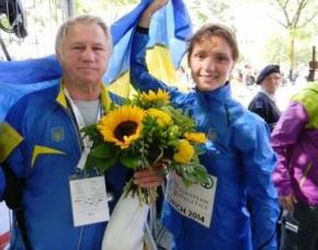 Украинка Людмила Оляновская завоевала серебряную медаль на чемпионате Европы по легкой атлетике