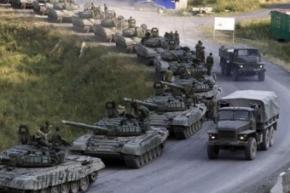 В Україну увійшла колона російської бронетехніки до 100 одиниць