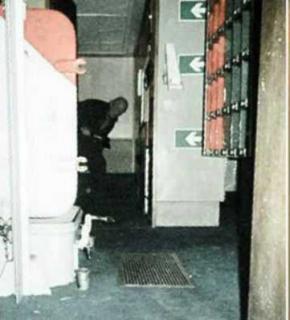 Заснятый на военном корабле призрак с топором поднял на ноги полицию