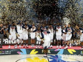 Американцы выиграли чемпионат мира по баскетболу 2014