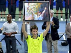 Украинский теннисист Сергей Стаховский победил на турнире во Франции
