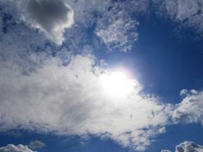Сьогодні в Україні переважатиме мінлива хмарність, на Заході – хмарно, в решті областей – сонячно