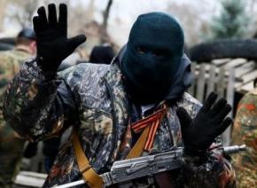Террористы угрозами вынуждают жителей оккупированных городов
